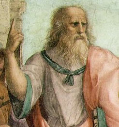 Plato. Courtesy of WikiMedia Commons