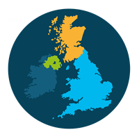 UK MAP Icon